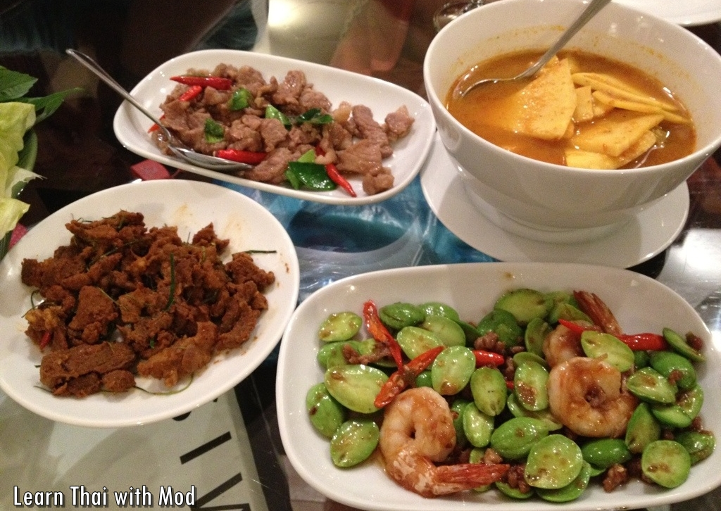 Southern thai dishes and my favorite place to eat them in for At home thai cuisine