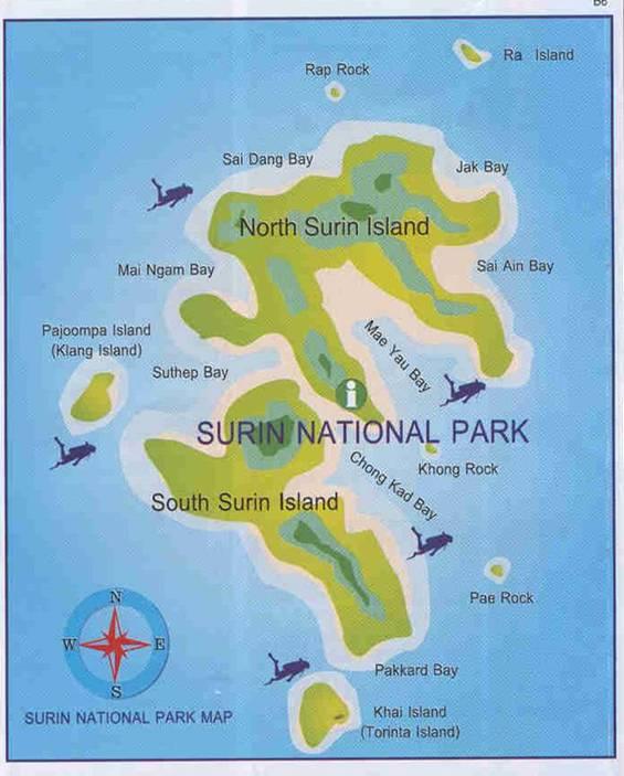 Surin Thailand  city photos gallery : Paradise Found at The Surin Islands | Learn Thai with Mod