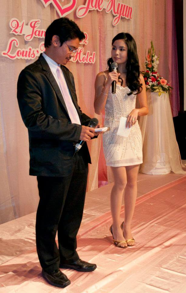 I was once an MC at my friend's wedding. :)