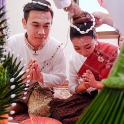 VIDEO: Traditional Thai Isan Wedding Ceremony